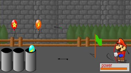 Captura de pantalla - La flecha de Mario