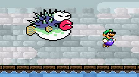 Captura de pantalla - La venganza interactiva de Luigi