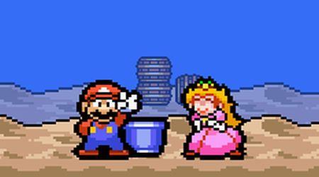 Captura de pantalla - Mario a contrarreloj
