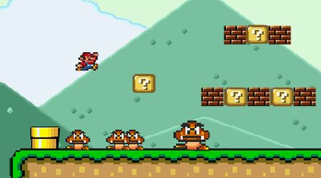 Captura de pantalla - Mario Bros Super Flash