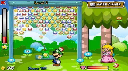 Captura de pantalla - Mario: Burbujas de fruta 2