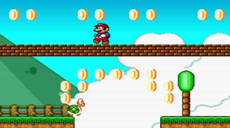 Captura de pantalla - Mario Forever Flash