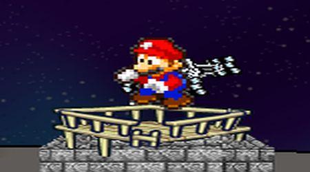 Captura de pantalla - Mario perdido en el espacio