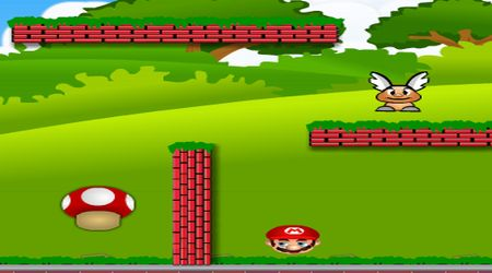 Captura de pantalla - Mario rebota