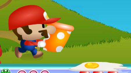 Captura de pantalla - Mario recolector de huevos