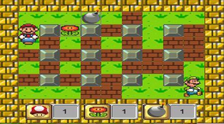 Captura de pantalla - Super Mario: Bombas
