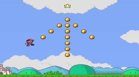 Captura de pantalla - Super Mario salta